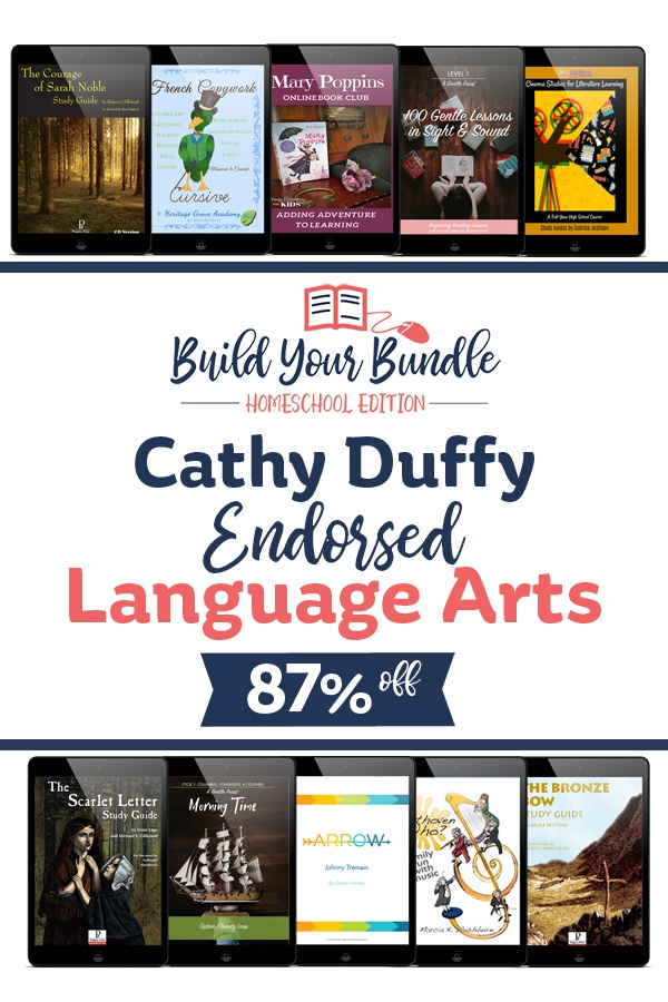 Cathy Duffy Language Arts Bundle